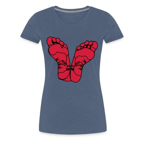 pieds - T-shirt Premium Femme