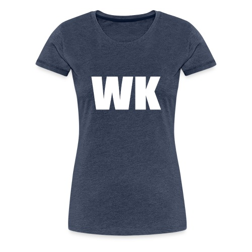 wk sweater - Vrouwen Premium T-shirt