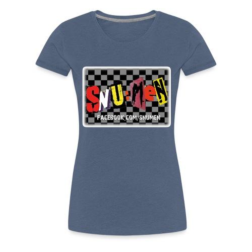 aufkleberfadeout - Frauen Premium T-Shirt