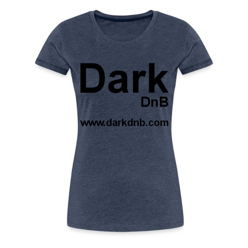 Dark DnB logo url - Women's Premium T-Shirt