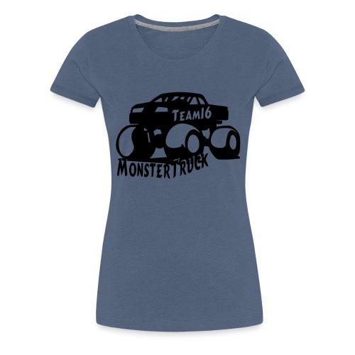 logo mtteam16 noir - T-shirt Premium Femme