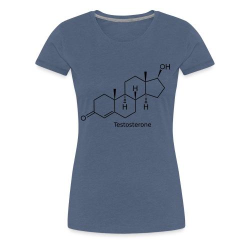 Testosterone - Bodybuilding, Crossfit, Fitness - Frauen Premium T-Shirt