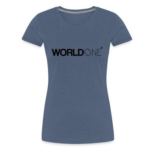 WorldØne© - T-shirt Premium Femme
