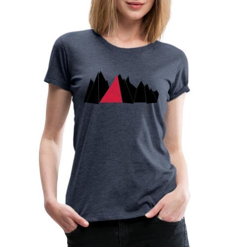 T-Shirt Mountains - Frauen Premium T-Shirt