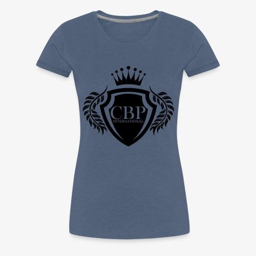 NEW CBP VECTOR BLACK - T-shirt Premium Femme