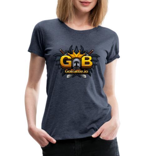 GoBattle.io - Women's Premium T-Shirt