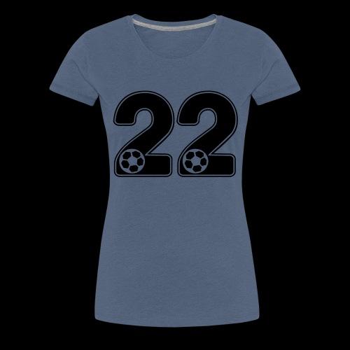 foot numero 22 - Women's Premium T-Shirt