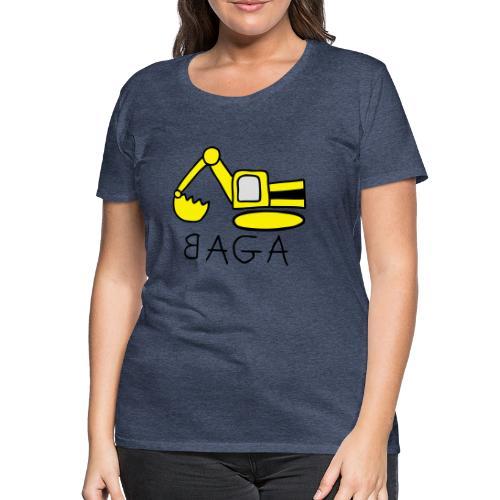 Bagger (BAGA) - Frauen Premium T-Shirt