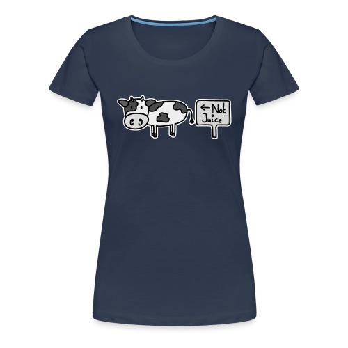 Not Juice (Original) - Women's Premium T-Shirt