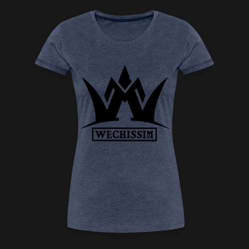 Wechissim Logo - T-shirt Premium Femme