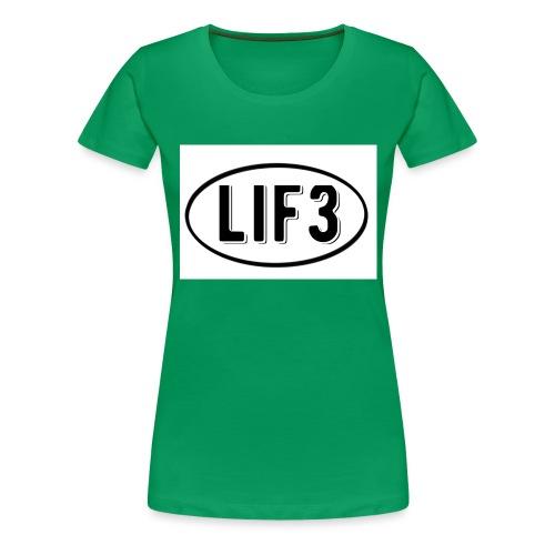 Lif3 gear - Women's Premium T-Shirt