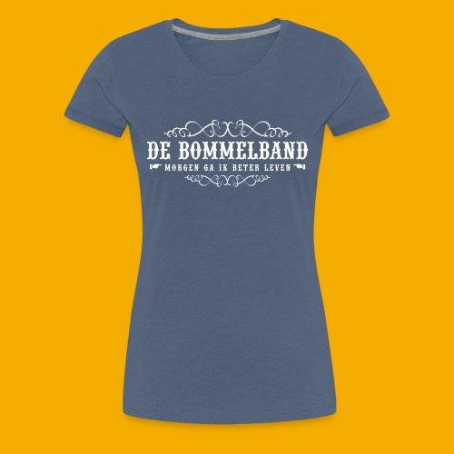 bb tshirt back 02 - Vrouwen Premium T-shirt
