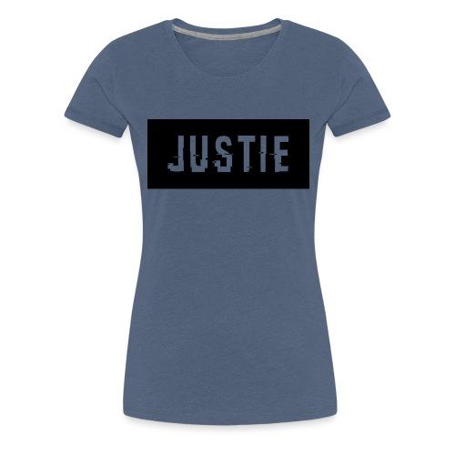 Justie shirt - Vrouwen Premium T-shirt
