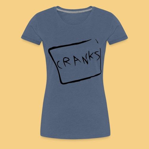 cranks super smooth - Women's Premium T-Shirt