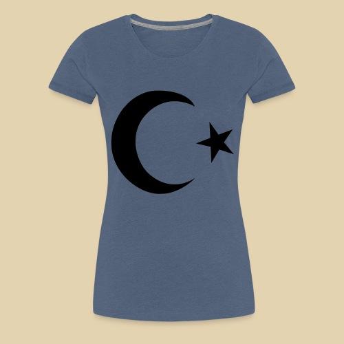Halbmond - Türkei - Frauen Premium T-Shirt
