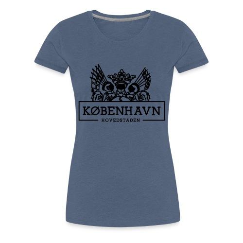 KØBENHAVN - Hovedstaden - Dame premium T-shirt
