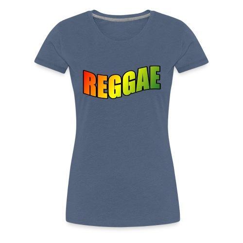 Reggae - Women's Premium T-Shirt