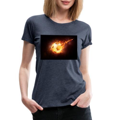 Ballon en feu - T-shirt Premium Femme