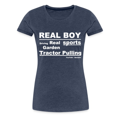 teenager - Real boy - Dame premium T-shirt