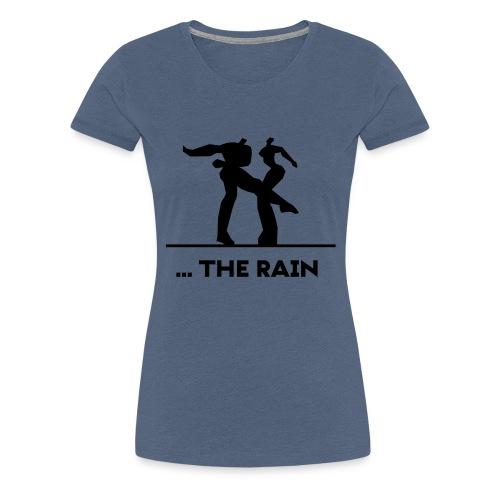 logo schwarzweiss the rain - Frauen Premium T-Shirt