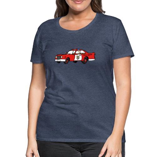 fire chief car - Frauen Premium T-Shirt