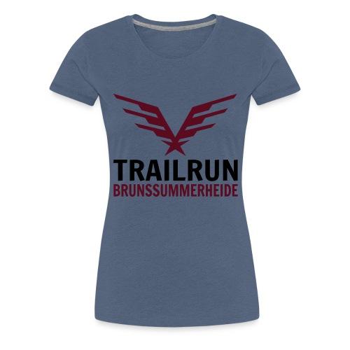 Vectorlogo Trailrun Bruns - Vrouwen Premium T-shirt