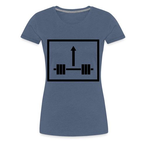 Lift Weight Up - Frauen Premium T-Shirt