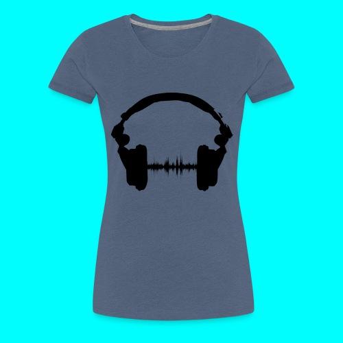 Kopfhörer - Frauen Premium T-Shirt