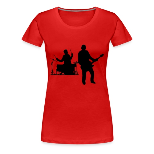 Beat - Naisten premium t-paita
