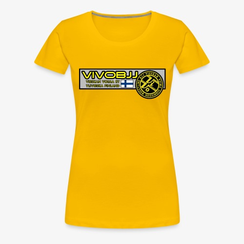 ViVoBJJ Patch - Naisten premium t-paita