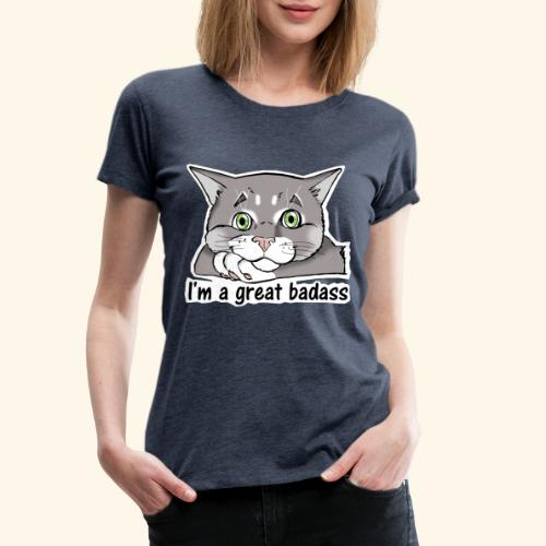 Nice Dogs CATS - Maglietta Premium da donna