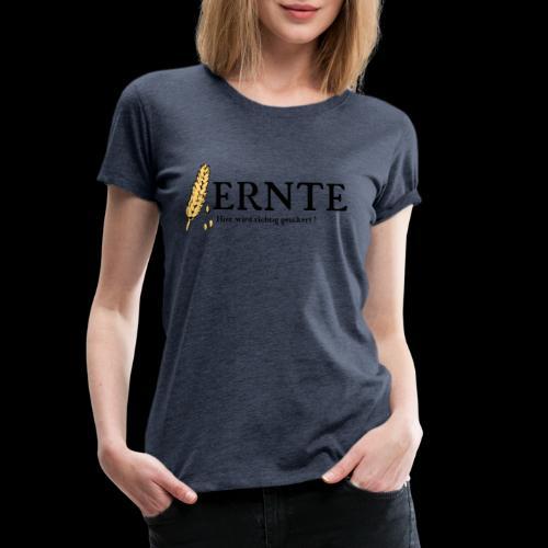 Ernte 2 Schwarz - Frauen Premium T-Shirt
