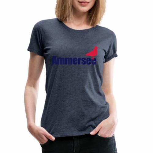 Ammerseemöwe 2c - Frauen Premium T-Shirt