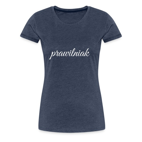 snapback (prawilniak) - Koszulka damska Premium