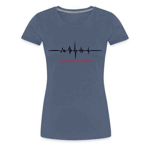 Frequenztherapie Drunk - Frauen Premium T-Shirt