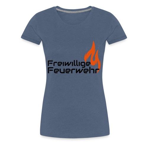 Freiwillige Feuerwehr - Frauen Premium T-Shirt