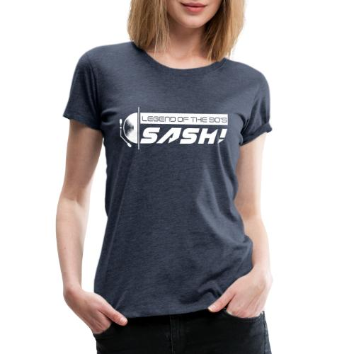 DJ SASH! Turntable Logo - Women's Premium T-Shirt