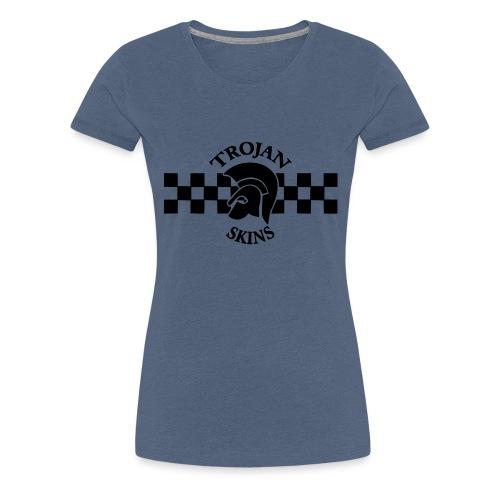 trojanskins - Frauen Premium T-Shirt