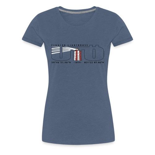 UTÖ MAJAKKASAARI Merelliset tekstiilit ja lahjat - Naisten premium t-paita