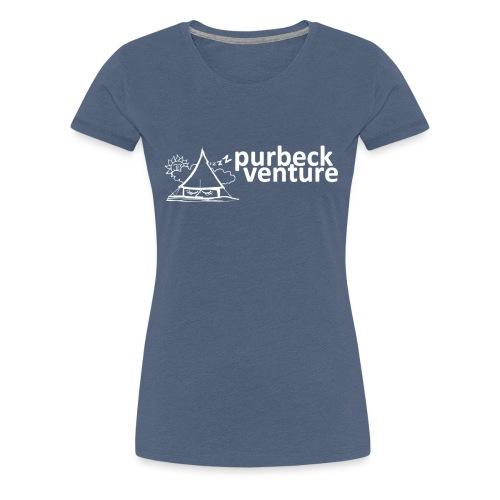 Purbeck Venture Sleepy white - Women's Premium T-Shirt