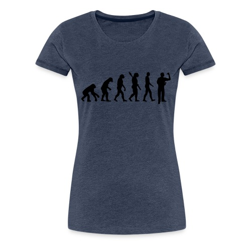 Evolution Darts - Camiseta premium mujer