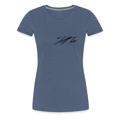 JeffTec Signature Logo White - Women's Premium T-Shirt
