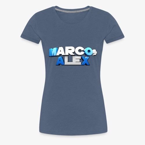 Logo Marco+Alex - Maglietta Premium da donna