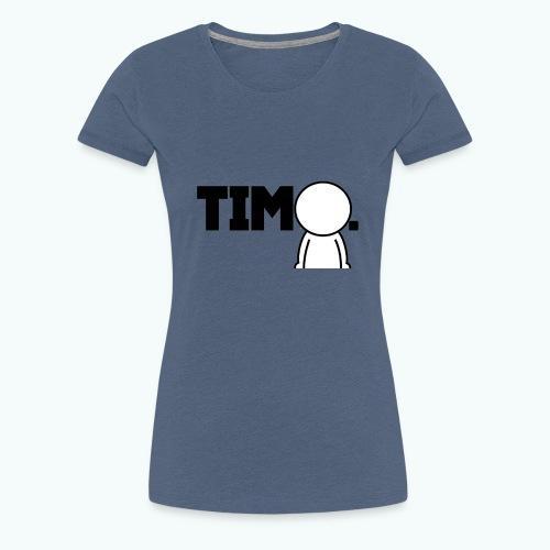 Design met ventje - Vrouwen Premium T-shirt
