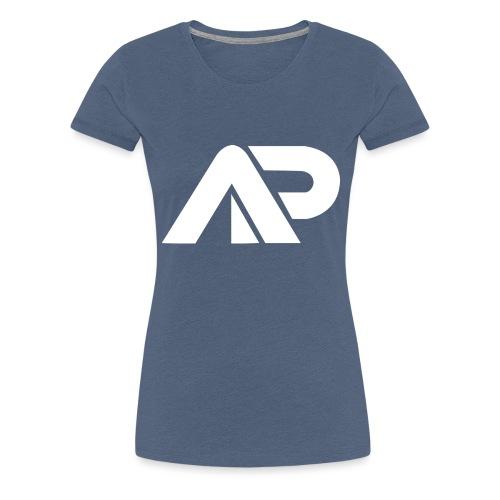 APGP Hvid - Dame premium T-shirt