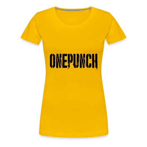 Boxing Boxing Martial Arts mma tshirt one punch - Women's Premium T-Shirt