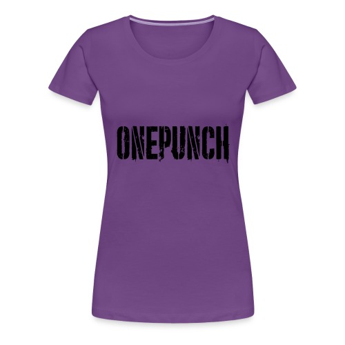 Boxing Boxing Martial Arts mma tshirt one punch - Women's Premium T-Shirt