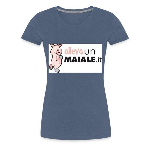 Allevaunmiale.it - Maglietta Premium da donna