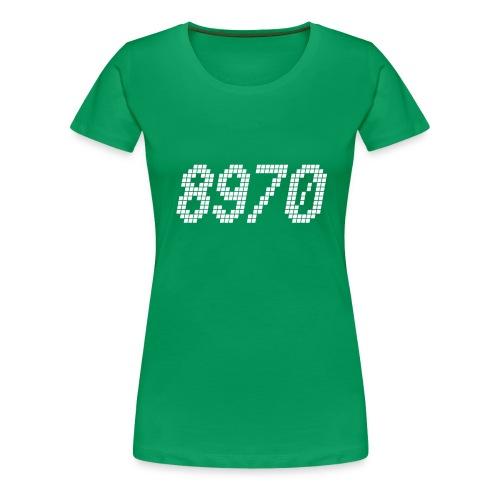 8970 Havndal - Dame premium T-shirt