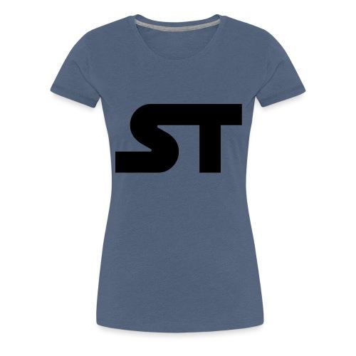 ST SIMPLE BLACK png - Frauen Premium T-Shirt